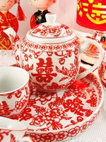 Teaset - Red Happiness