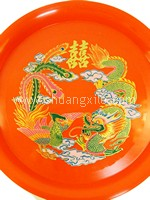 Dragon Phoenix Wedding Tray