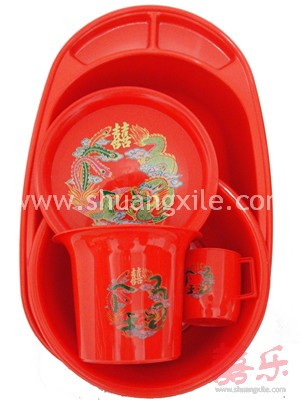 Descendants Pail Set (Dragon Phoenix)