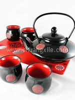 Teaset - Premium Collection Japanese Style (Black)