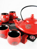 Teaset - Premium Collection Japanese Style (Red)