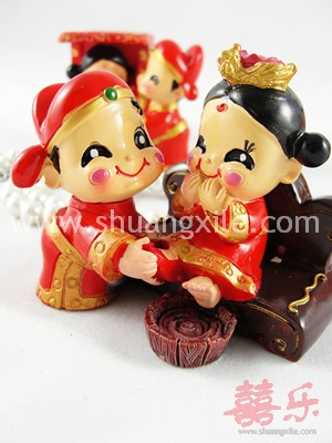 Sweet Couple Mini Figurine
