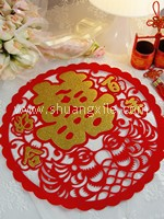 Wedding Decor - Xi (Round Velvet Large)