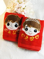 Face Towel Set - Cute Couple 老公老婆