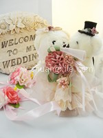 Will You Marry Me? Lacey Wedding Bear Ring Box~back in stock!