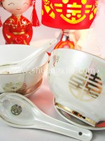 Dining Set - Gold Xi
