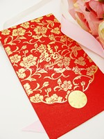 Exquisite Floral Red Packet