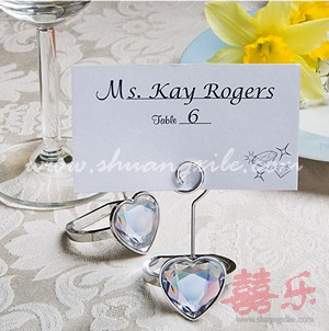 Love Ring Placecard Holder