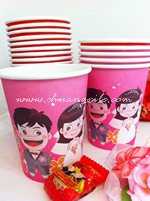 Paper Cup Pink