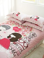 Romantic Wedding Bedding Set