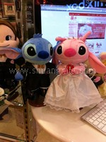 Disney Stitch Wedding Dolls