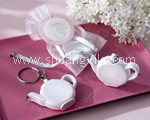 Teapot Measuring Tape Keychain