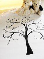 Love Tree Thumbprint Guestbook
