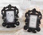 Black Italian Baroque Photo Frame