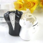 Bride & Groom Candle Holder