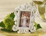 White Italian Baroque Photo Frame