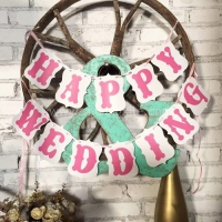 Happy Wedding Banner