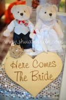 Here Comes The Bride Wooden Sign