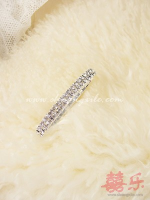 2 Tier Crystal Bracelet