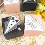 Bride and Groom Wedding Candy Box (30pcs)