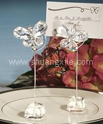 Crystal Butterfly Placecard Holder