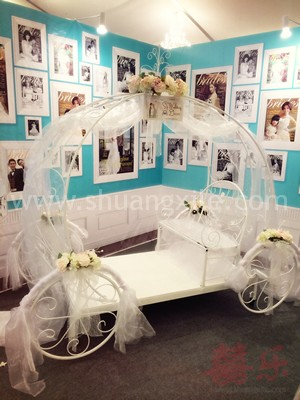 Cinderella Pumpkin Carriage  (2 Seater)