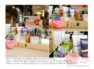 Korean Design DIY Cosmetic Organizer
