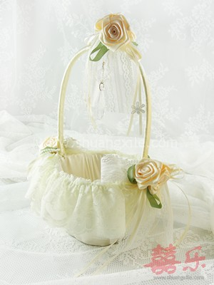 Lacey Dream Flower Girl Basket