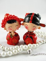 Happy Couple Mini Figurine (欢欢喜喜)