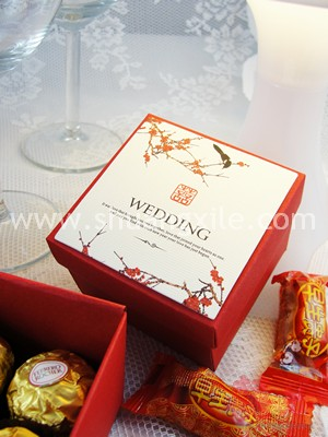 Xi - Love Birds Wedding Candy Box (25pcs)