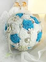 Enchanting Blue Jewellery Fabric Bouquet