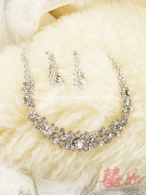 Gorgeously Crystal Necklace Set