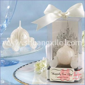 Happily Ever After - Carriage Candle