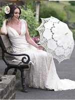 Battenburg Lace Parasol~New!