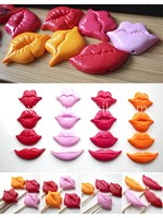 Fun Plastic Lips Photo Props (4 in 1 set)~50%OFF