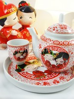 Teaset - Oriental Happy Couple