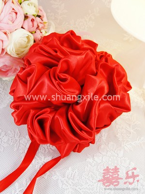 Red Silk Ball (3 Sizes available)
