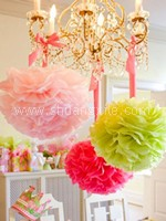 Paper Pom Pom Decor~50% OFF