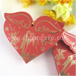 Angel Wing Red Wedding Candy Box (25pcs)