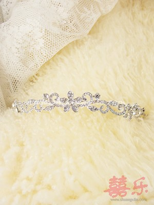 Simple Crystal Tiara