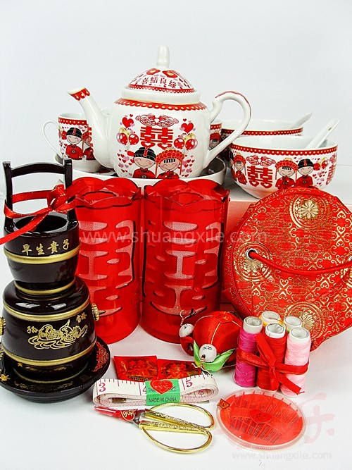 Traditional Chinese Wedding Gifts: Special Value Packages