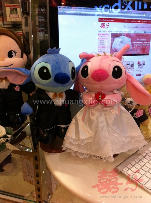 Disney Stitch Wedding Dolls Wedding Plush Toys Wedding
