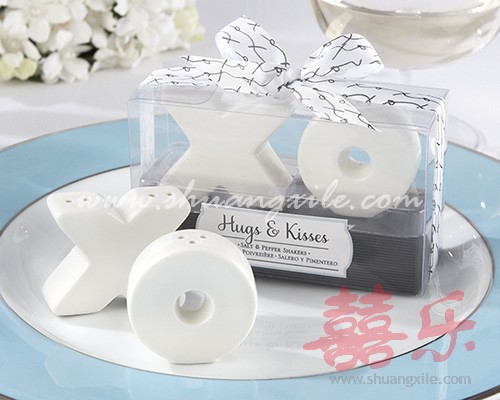 Xo Salt Pepper Shakers Wedding Favors Salt Pepper Shakers