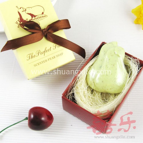 Perfect Wedding Gift Ideas: Scented Pear Soap